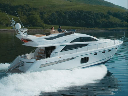 General information: Yacht ID. 143. Model: Fairline Phantom 48. Produced:
