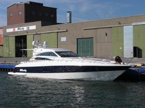 General information: Yacht ID. 202. Model: Windy 58 Zephyros. Produced:
