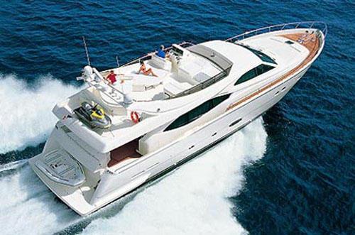 General information: Yacht ID. 250. Model: Ferretti 760. Produced: