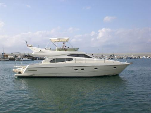 General information: Yacht ID. 254. Model: Ferretti 480. Produced: