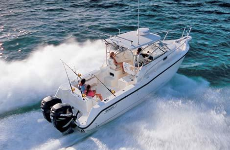 General information: Yacht ID. 88. Model: Boston Whaler 28 Conquest